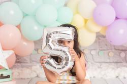 Sesión de fotografía de cumpleaños en Sanxenxo de uno punto cuatro fotografía