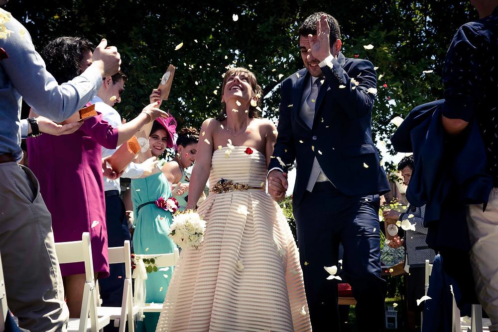 Fotografía de boda en A Quinta de San Amaro de uno punto cuatro fotografía