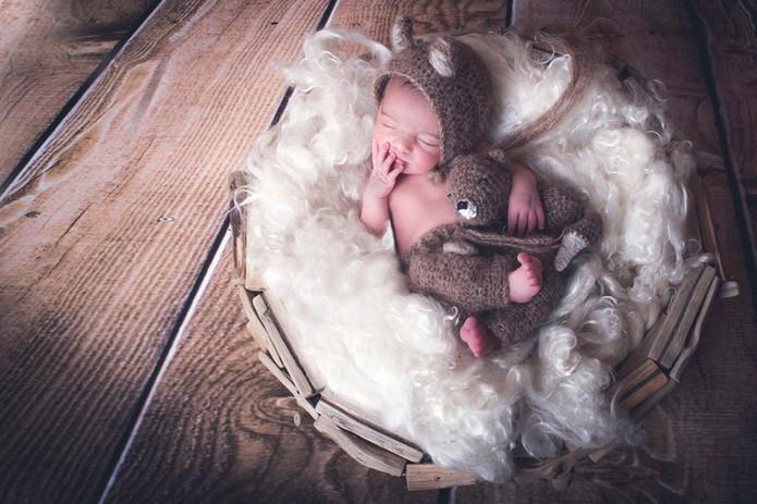 fotografía de newborn en Sanxenxo de uno punto cuatro fotografía