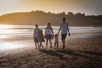 sesión de fotografía de familia en Pontevedra de uno punto cuatro fotografía