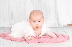 Sesión de fotografía de bebés en Sanxenxo de uno punto cuatro fotografía