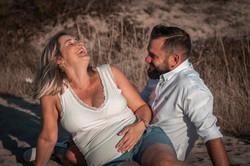 sesión de fotografía de embarazo en Pontevedra de uno punto cuatro fotografía