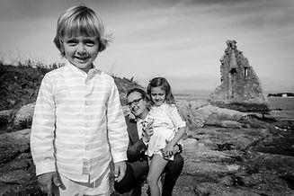 sesión de fotografía de famila en Pontevedra de uno punto cuatro fotografía