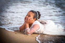 sesión de fotografía de comunión en Sanxenxo de uno punto cuatro fotografía