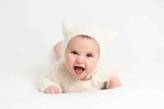 Sesión de fotografía de bebé en Pontevedra de uno punto cuatro fotografía