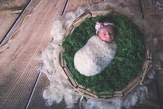 sesión de fotografía de newborn en Pontevedra de uno  punto cuatro fotografía