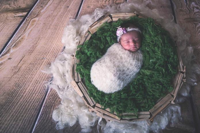 fotografía de recién nacido en Pontevedra