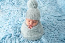 Sesión de fotografía de recién nacido en Sanxenxo de uno punto cuatro fotografía