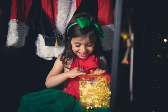 Sesión de fotografía de navidad en Sanxenxo de uno punto cuatro fotografía