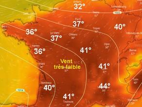 45,9°C : le record de chaleur en France battu :-(