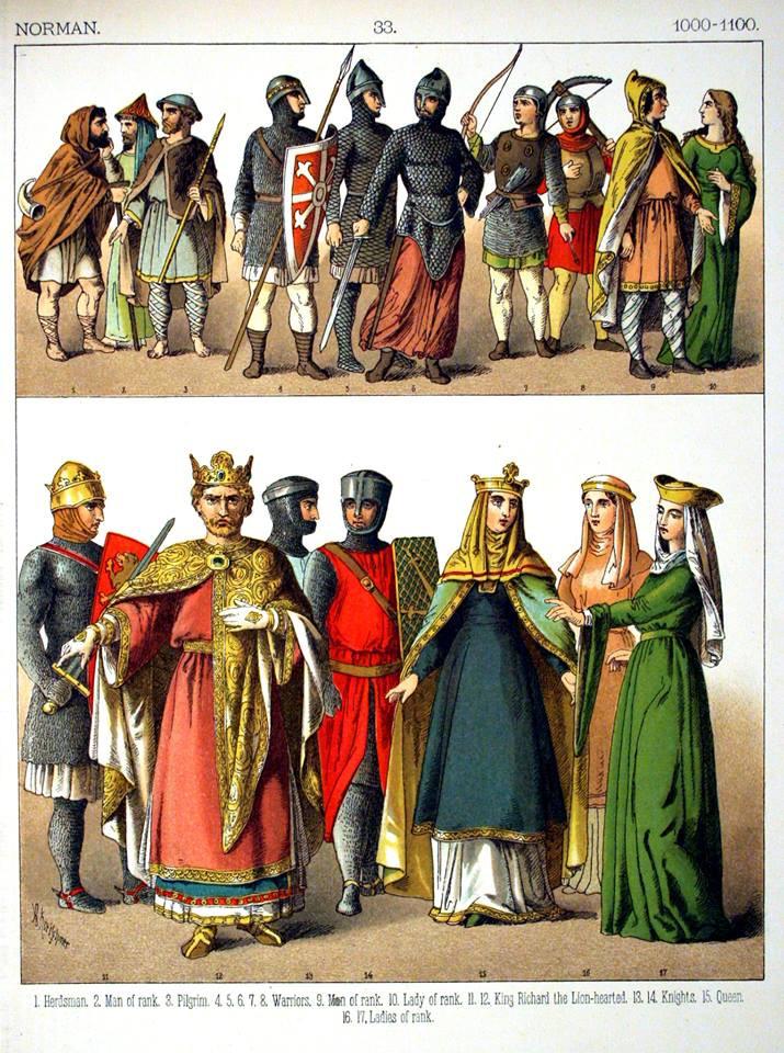 ชาวนอร์มันในศตวรรษที่ 11
