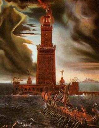 ประภาคารฟารอสแห่งอเล็กซานเดรีย แสงนำทางแห่งยุคโบราณ