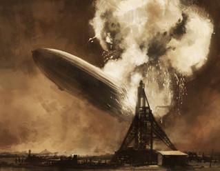 การเดินทางเที่ยวสุดท้ายของฮินเดนบวร์ก (Hindenburg)