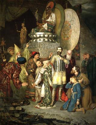 การสำเร็จโทษเจ้าชายไมเคิลแห่งเซอร์นิคอฟ (Mikhail Vsevolodovich)