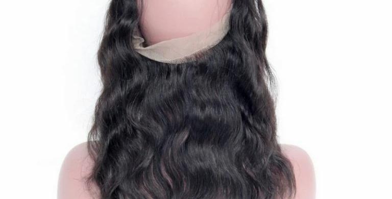 Brazilian Body Wave 360 Lace Frontal