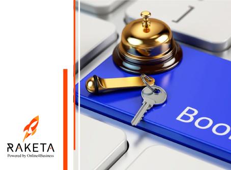 Онлайн платформа Raketa здійснила пряму інтеграцію з Booking.com!