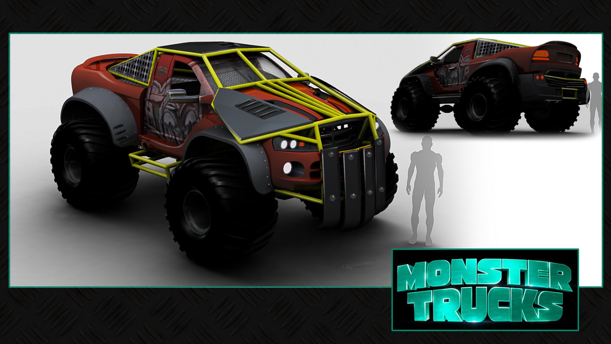 Monster Truck Concept