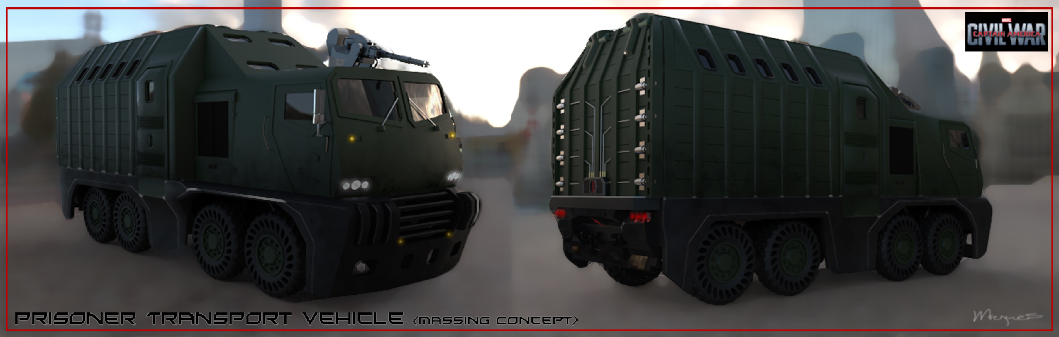 Winter Soldier Transport Concept