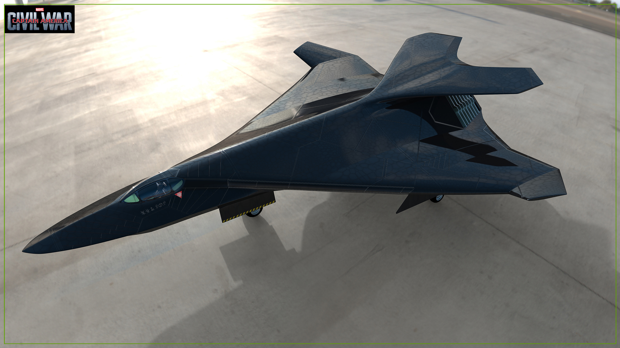 Black Panther Pursuit Jet concept