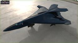 Black Panther Pursuit Jet concept