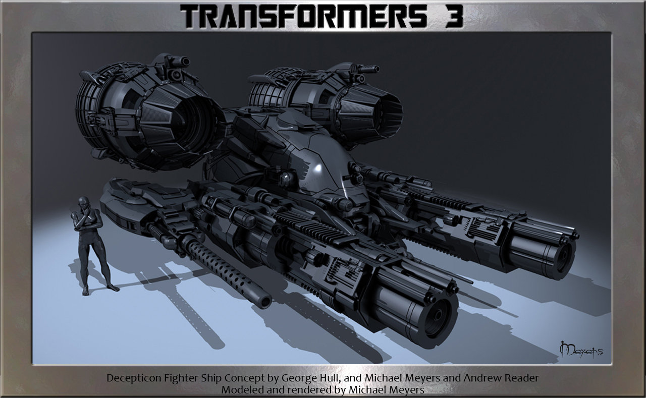 Decepticon Fighter Ship