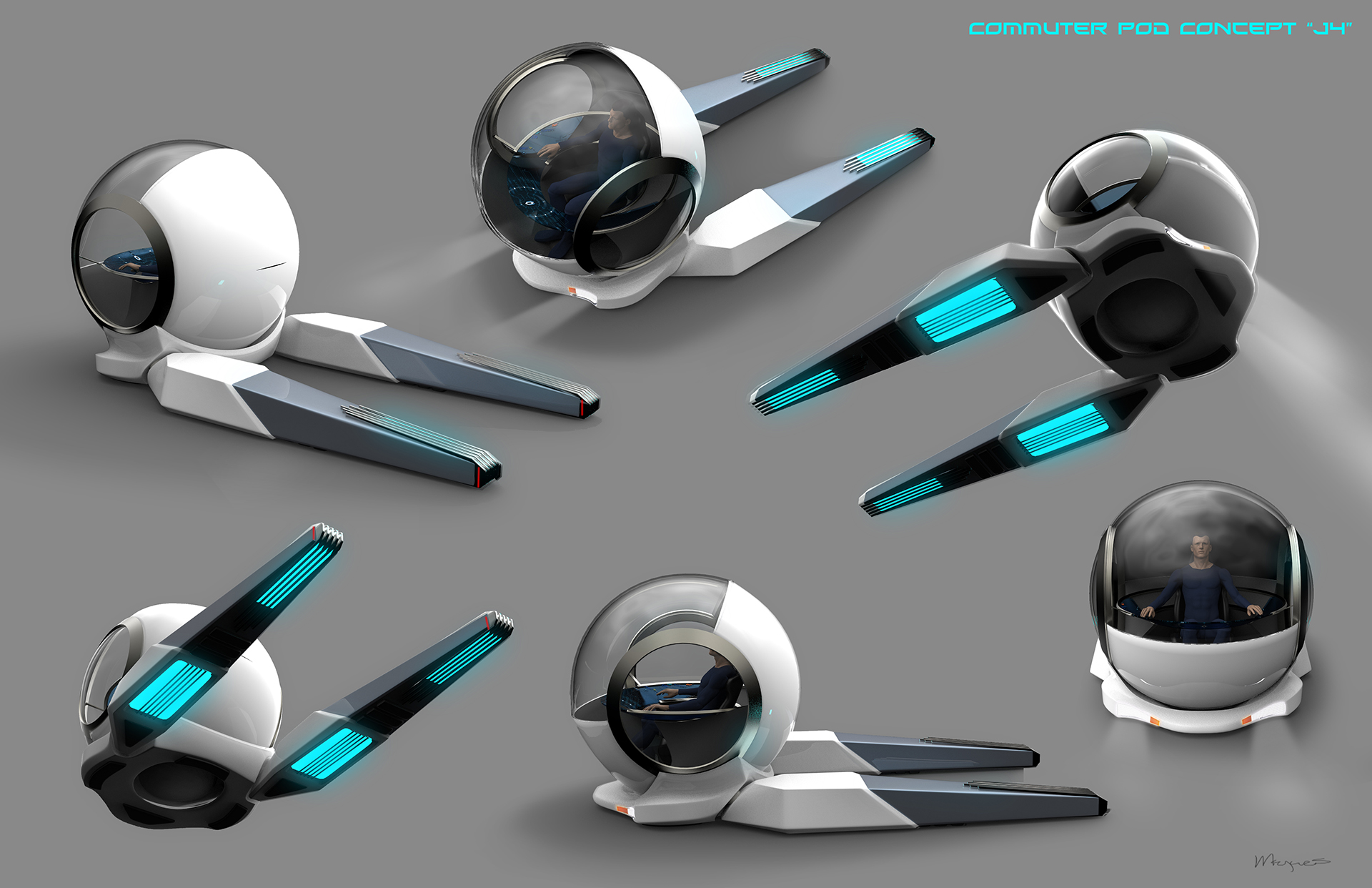 Orville Commuter Pod Concept