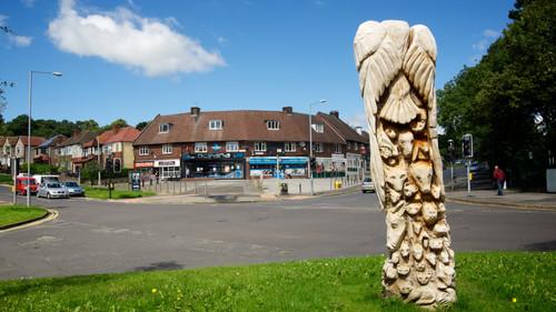 Wooden Animal Sculpture, Wisewood