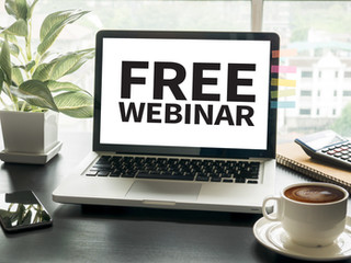 Free Continuing Education Webinar - California Credit Also Available!