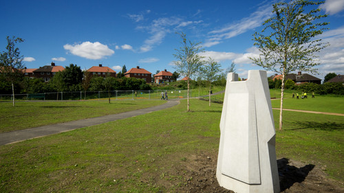 Lady in Waiting Sculpture, Manor Park