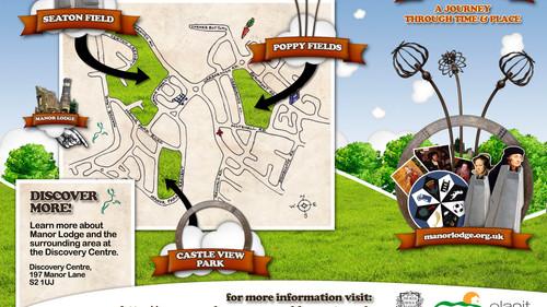 Manor Park Trail Leaflet (Cover)