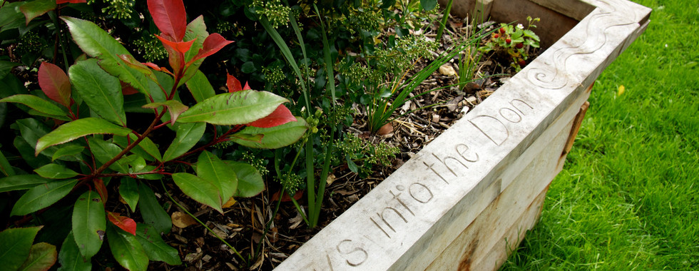 Wooden Planter with Poem, Wisewood