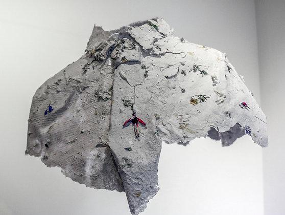 'Nemophilist', Moulded Handmade Paper Shirt