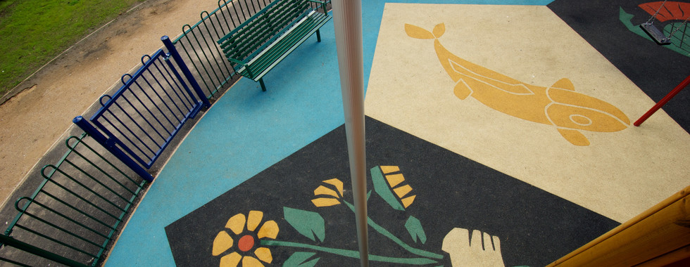 Bespoke Playground Surface, Manor Park