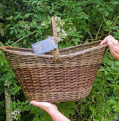 Oval Flared Shopping Basket
