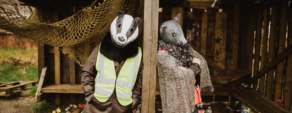 Town Puca Badger & Rat