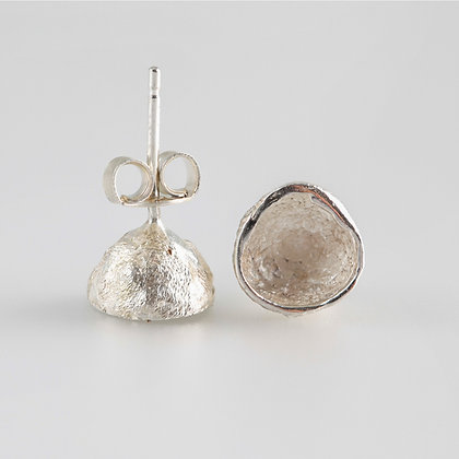 Acorn Collection Silver Stud Earrings