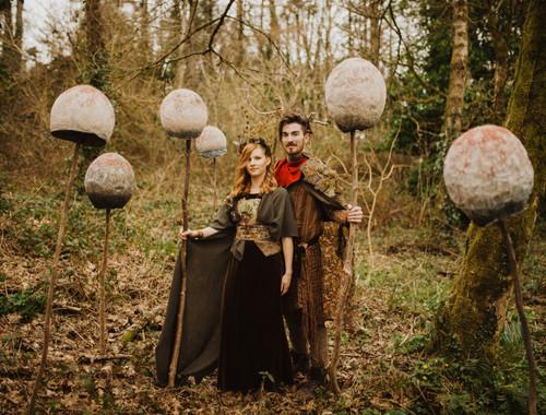 Woodland Queen & Green Man