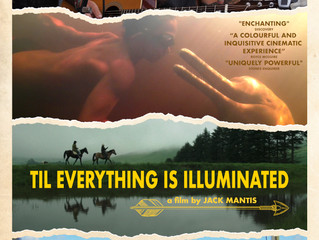 Jack announces release date for his first full length documentary, 'Till Everything is Illuminated'.