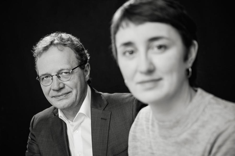 PROF. DR. HERMANN OTT AND IDA WESTPHAL
