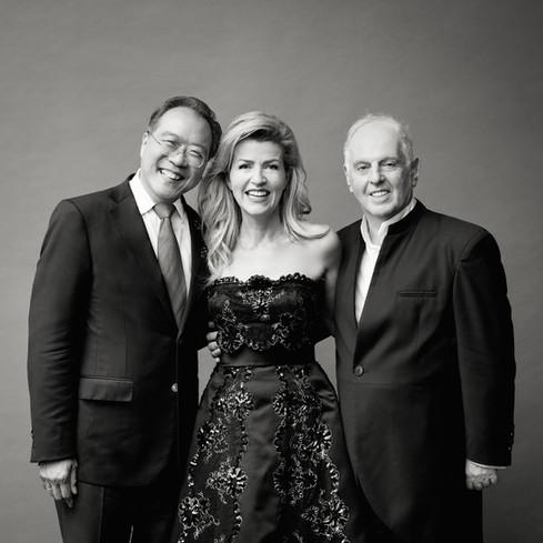 YO-YO MA, ANNE-SOPHIE MUTTER, DANIEL BARENBOIM