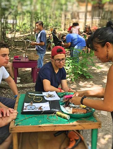 Cultura maya local en Calakmul