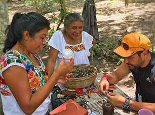 Local communities in Calakmul