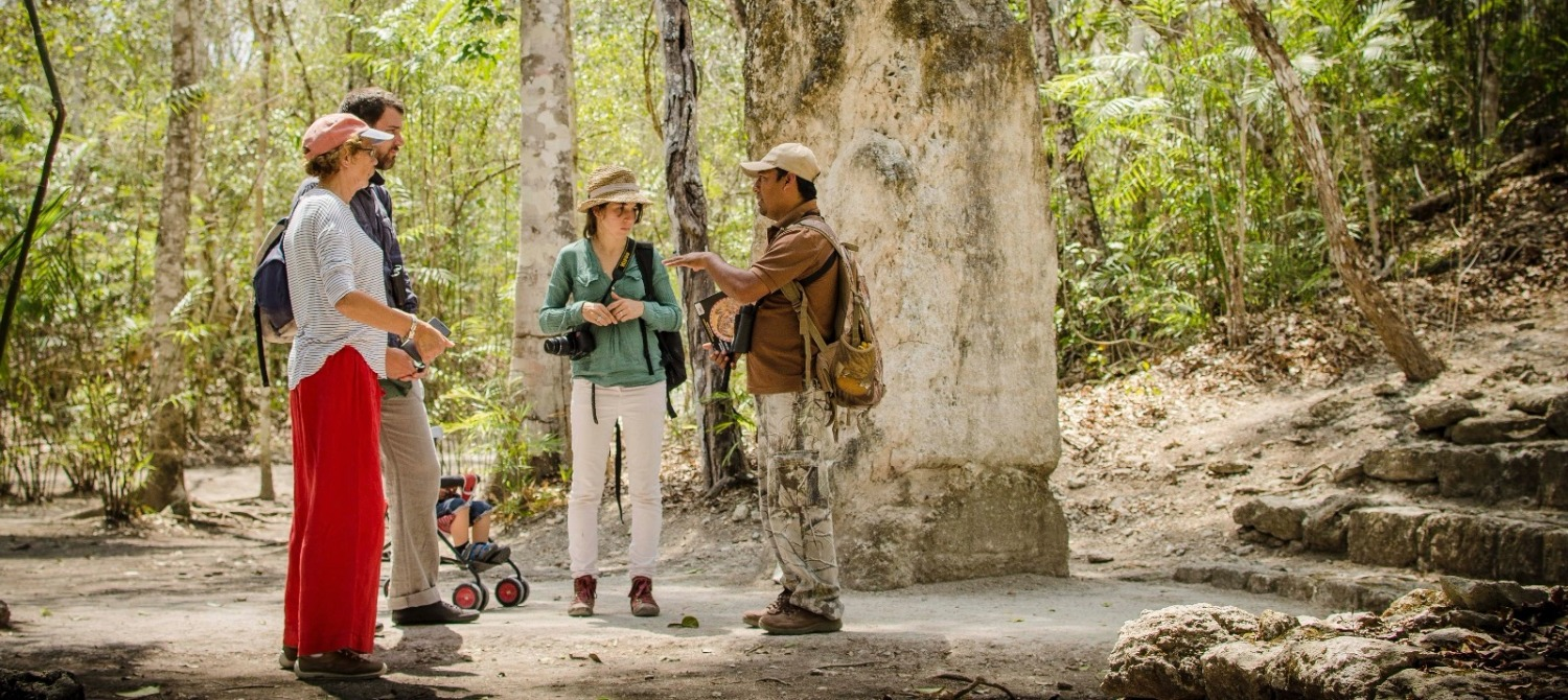 Guided tours to Calakmul
