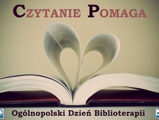14 listopada Ogólnopolski Dzień Biblioterapii