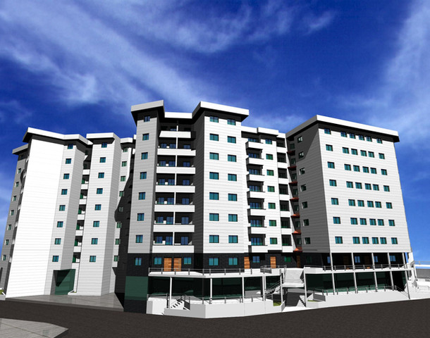 100 unit residential complex