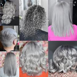 Silver Hair Transformations