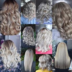 Multi Toned Blonde Hair