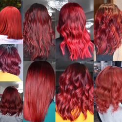 Vibrant Fiery Reds