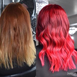 Colour Melt Vibrant Red