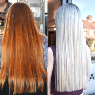 Icy Blonde Colour Change